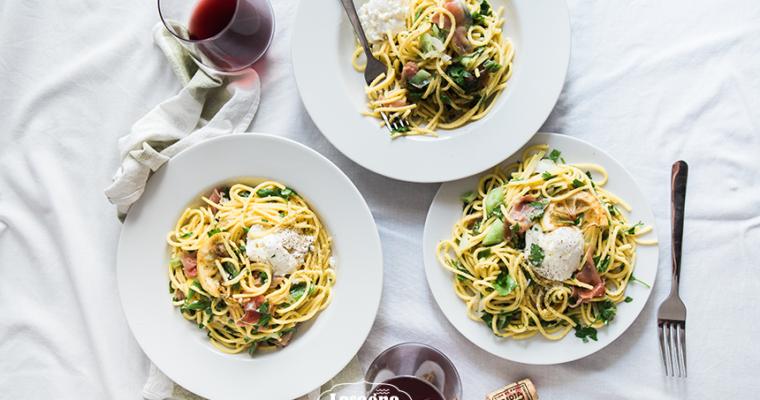 Come spaghetti, vive feliz